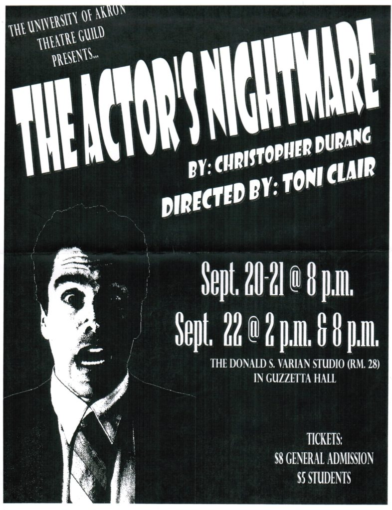 The Actor's Nightmare - Directed by Toni Clair